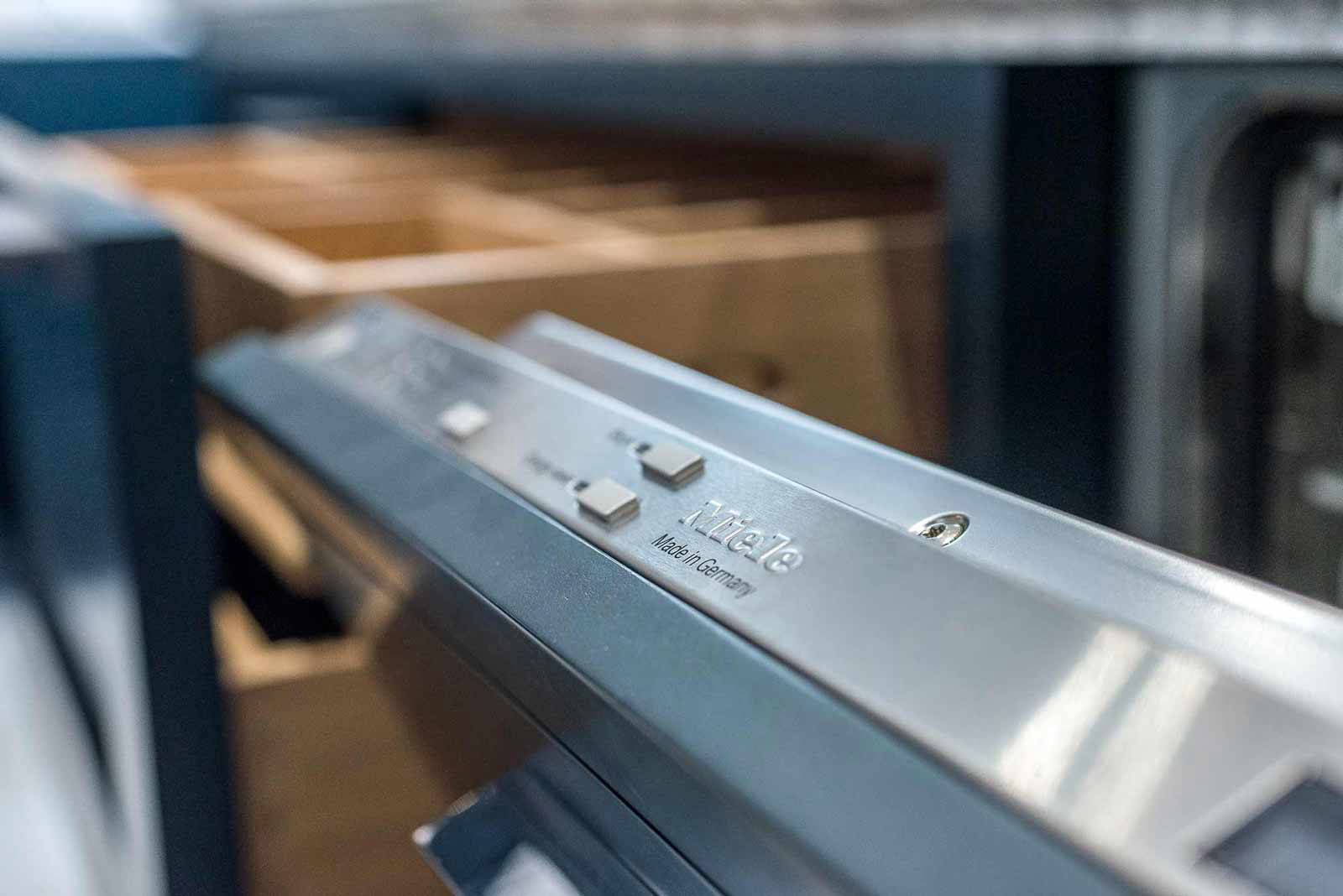 KBD Kitchen by Design, Miele dishwasher detail