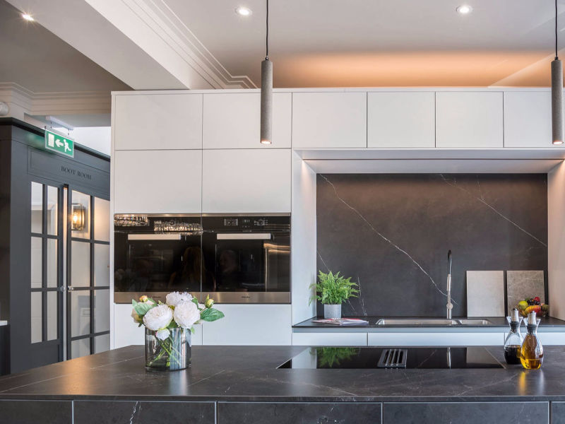 KBD - Signature Kitchen by Design, contemporary bespoke kitchen detail idea